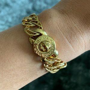Marc Jacobs Gold Chain Bracelet